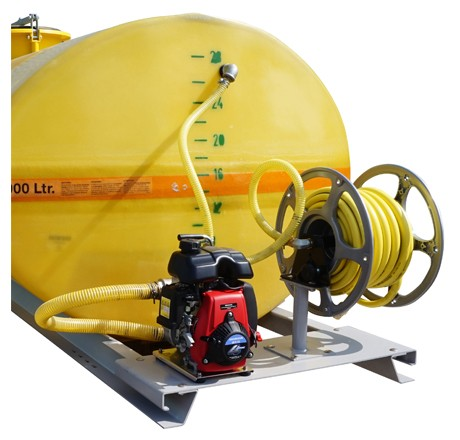 Cuves PFV ovales équipées sur plateau, pompe thermique, de 600 à 5 000 litres